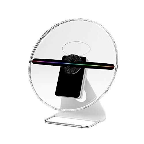 Free Shiping 30cm 3D Hologram Fan Battery Powered Advertising Logo Projector LED Fan Display