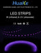 LED Strip Light IR and UV