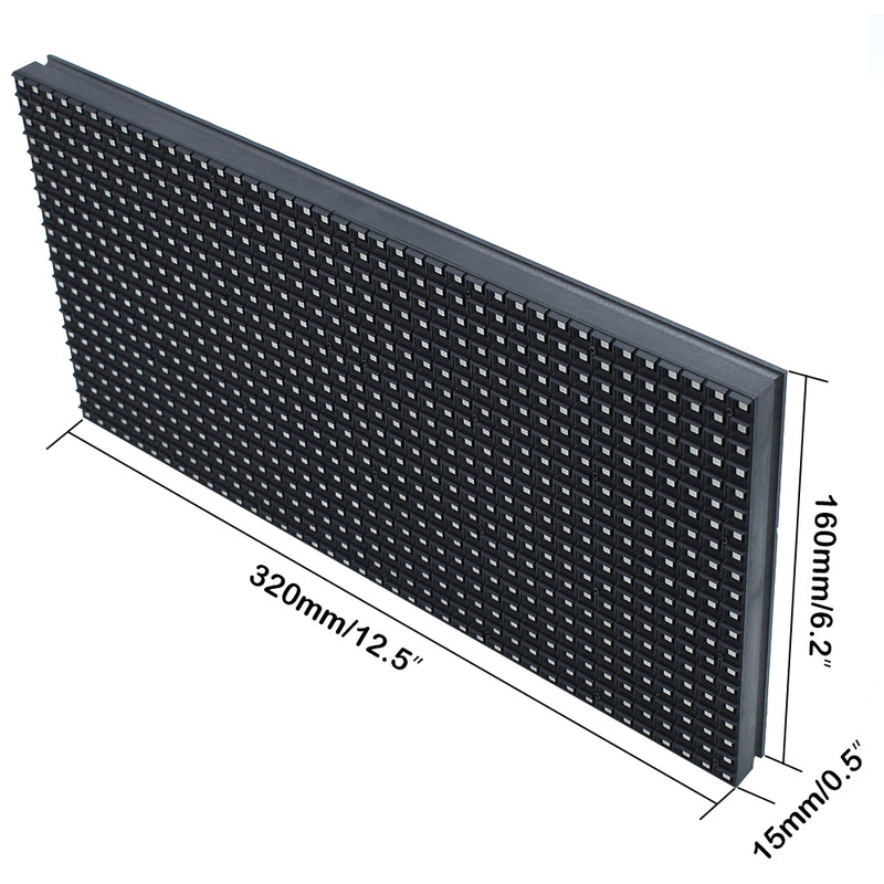 M-OD8L P8 Normal Outdoor LED Module, Full RGB 8mm Pixel Pitch LED Tile in 320*160mm with 800 dots, 1/4 Scan, 5000 Nits for Outdoor Display