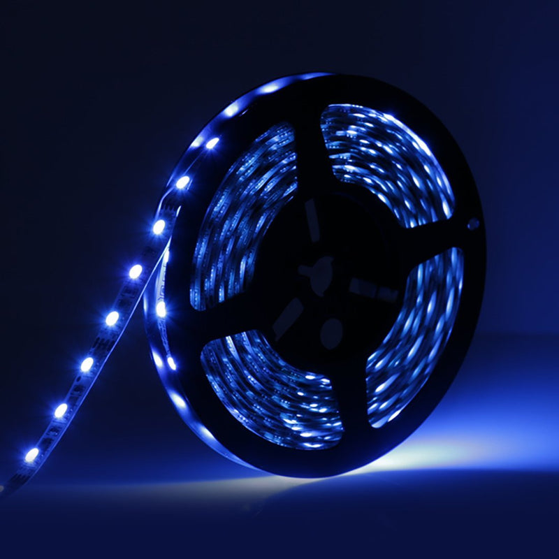 16.4FT/5M SMD5050-300 LED Strips RGB Color High Density Tri-Chip 60 LEDs Per Meter 10mm Wide RGB LED Tape
