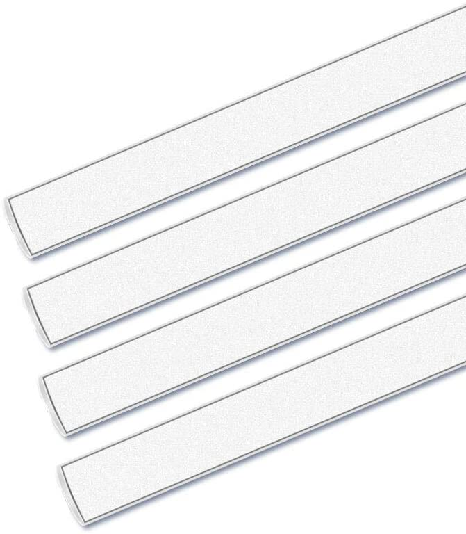 "Superbright LED Under Cabinet Lights Dimmable 13"" x 4-Bars for Kitchen, Closet with 276 LEDs"