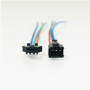 5Pair (10pcs) Female and Male JST 3PIN RGB Strip Wire Connector for Dream Color SMD5050 RGB LED Flex Strip Light