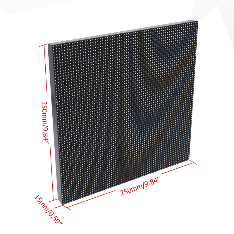 M-OD3.9 P3.91 Rental Sereis LED Module,Full RGB 3.91mm Pixel Pitch LED Tile in 250*250mm with 4096 dots, 1/16 Scan, 5000 Nits for outdoor Display