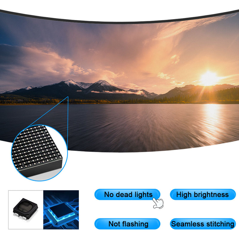 Tour-GOB Outdoor Series Rental LED Display 1.95/2.6/2.9/3.9/4.8 mm Pixel Pitch in 500x500mm Aluminum Cabinet with Glue Covered Protective Surface Waterproof IP65LED Screen