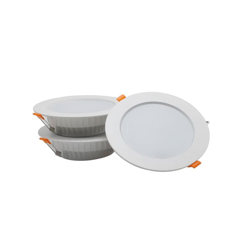 LED Downlight 5W/7W/12W/15W/24W CRI80 COB Fixed Head All White Directional Recessed Ceiling Light-Q7 Series