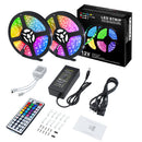 LED Strip Lights, 32.8FT/10M SMD5050 300leds Waterproof RGB Color Changing LED Strip Light Kit with 44 Keys IR Remote Controller, Flexible Strip Light for Home, Kitchen, TV, Bar Decoration