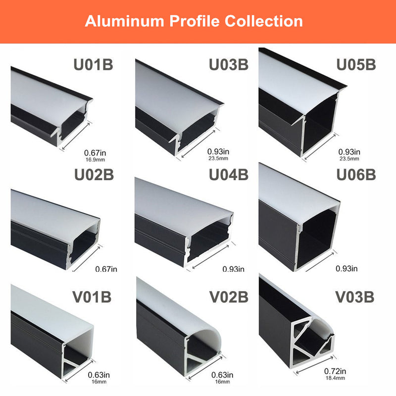 LED Aluminum Profiles