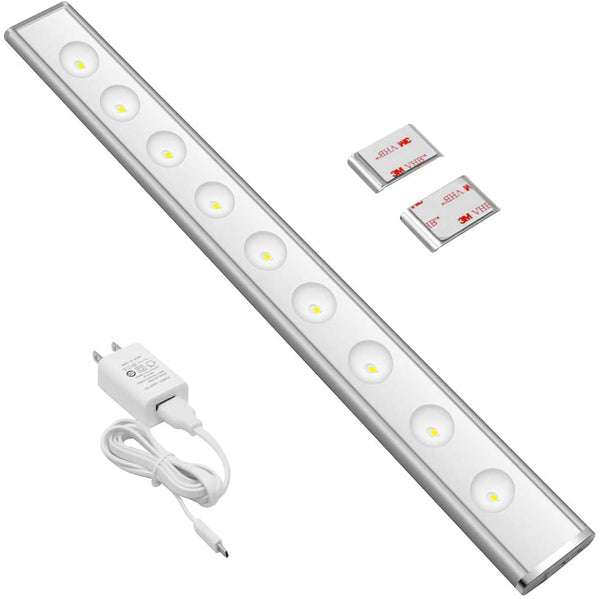 (FREE PRODUCT QTY.: 10)16 Inch LED Closet Light Daylight White 6000K (1Pack)
