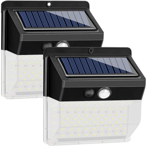 (FREE PRODUCT QTY.: 10) Solar Motion Light 136LEDs IP65 Waterproof Security LED Wall Lights (2 Pack)