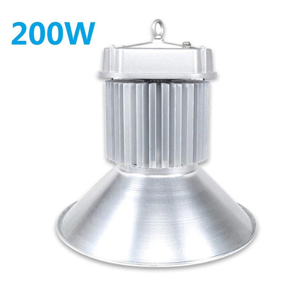 200W High Power COB IP65 Waterproof LED High Bay Light with Aluminum Reflector