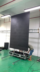 EP-M6 Series 6SQM Kit Indoor 3.9m Foldable Mobile LED Poster Remote Controlled LED Display Screen in Moveable Airflight Case