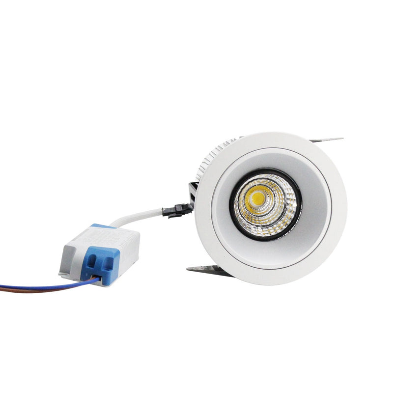 White Inner Reflector Stunning Interior Decorative Recessed Roof Mounting Downlights