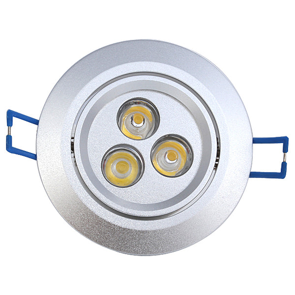 Directional 3W (Three 1 watt) LED Downlight
