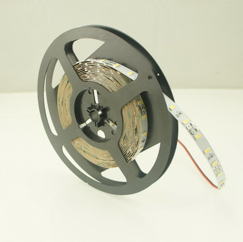 12V Dimmable SAMSUNG SMD5630-300 Flexible LED Strips 60 LEDs Per Meter 10mm Width 1200lm Per Meter