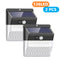 2 Pack Solar Lights Outdoor 136 LEDs Wireless Waterproof Security Solar Motion Sensor Wall Lights