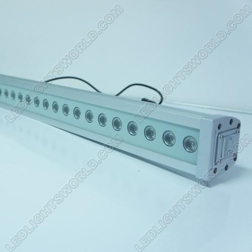 FREE SHIPPING 36Watt RGB Linear LED Wall Washer 110-265V AC Flood Light Standalone Operating, DMX 512 Controllable and Master/Slave Workable, IP65 Waterproof for Outdoor Use