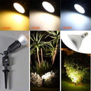 Outdoor PAR38 LED Light Bulb 7W 600Lumen (60W Equivalent) 120-degree Flood Beam E27/E26 Non-Dimmable Waterproof IP65 Par Light