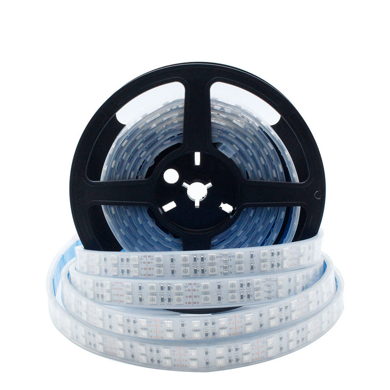 395nm 405nm Black Light SMD5050-600 12V 12A 144W UV LED Strip Light  Flex Ultraviolet Tape
