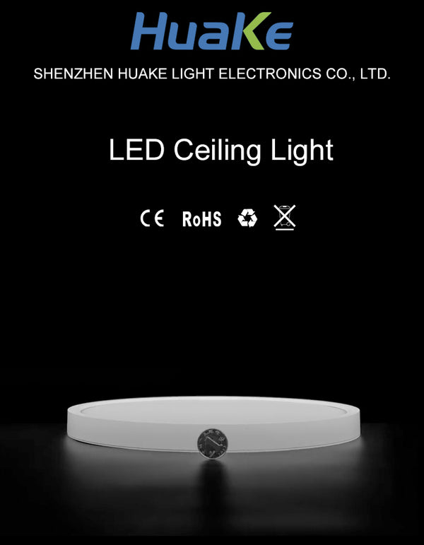 LED Ceiling Light - 24mm Thick