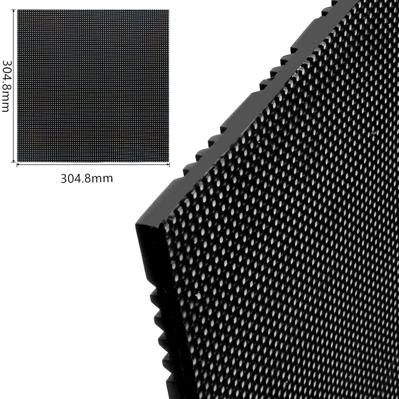 New Generation M-WF3.8 P3.8 (3.8mm) Outdoor Waterproof LED Module, 3.8mm Pixel Pitch Full RGB LED Panel Screen in 304.8* 304.8 mm with 6400 dots, 1/20 Scan, 4500 Nits For Outdoor Display