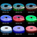 16.4ft(5Mtrs) 300LED SMD5050 RGBW LED Strips Light Kit Music Sync, IR Remote, WiFi APP Controlled, Alexa Compatible