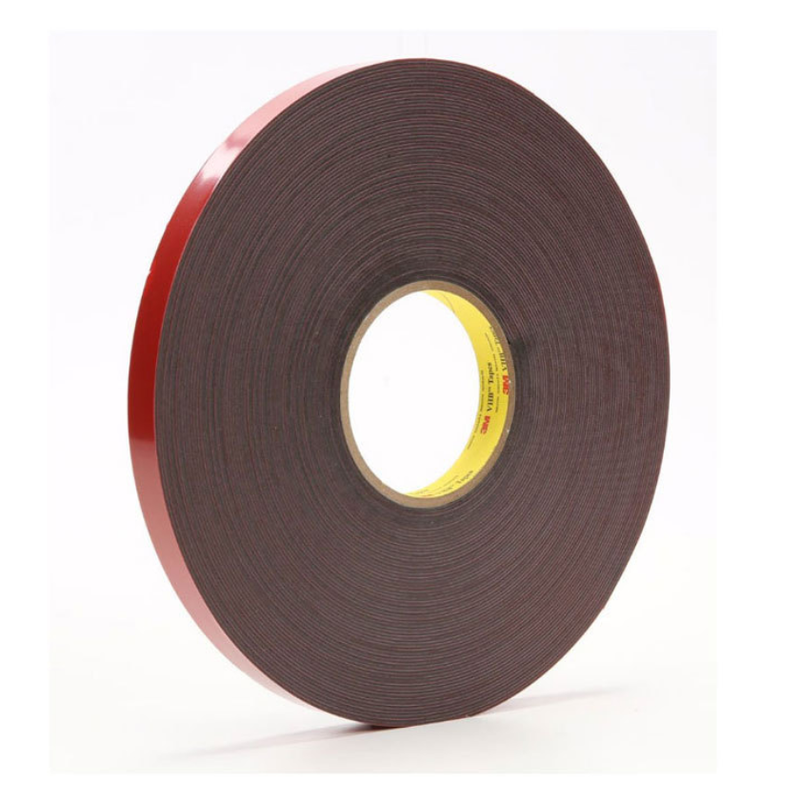 30M (100Feet) Roll 1mm Thick Red Coating VHB Tape, Heavy Duty Mounting Tape Adhesive, Foam Tape for Led Strip Lights, Home and Office Decoration