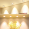 1inch Thick Low Profile LED Downlight 3W 2'' CRI80 Anti-glare Diffuser Ceiling Light