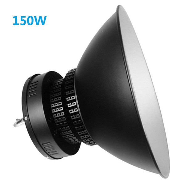 150W High Power Fin Heat Sink LED IP65 Waterproof LED High Bay Light with Aluminum Reflector