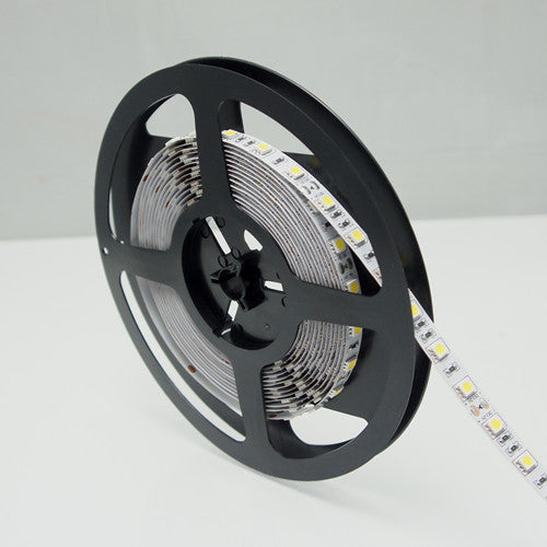 365nm & 380nm SMD5050-300 12V 6A 72W UV (Ultraviolet) LED Strip Light  Flex White PCB Ideal for UV Curing, Currency Validation, Medical Field