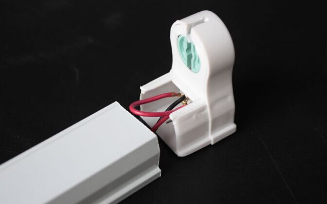 10 Pcs T8 Tube Light Fixture Tube Holder for Miniature Base T8 Tube Lights