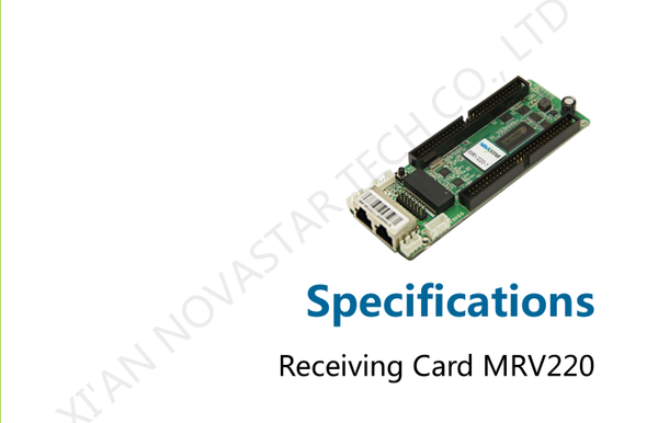 NovaStar MRV220 Series LED Screen Receiving Card