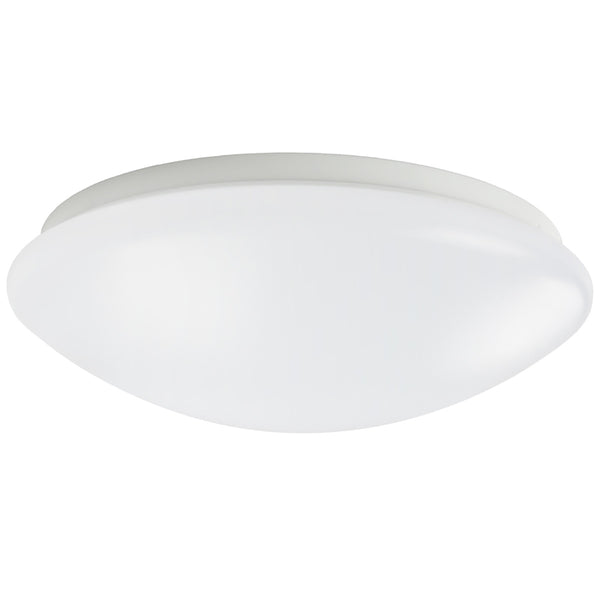 18W 11.4 Inch (290mm) LED Ceiling Light Fixture CCT changable & Dimmable with RF controller Round Acrylic Shade White Finish Modern LED Flush Mount