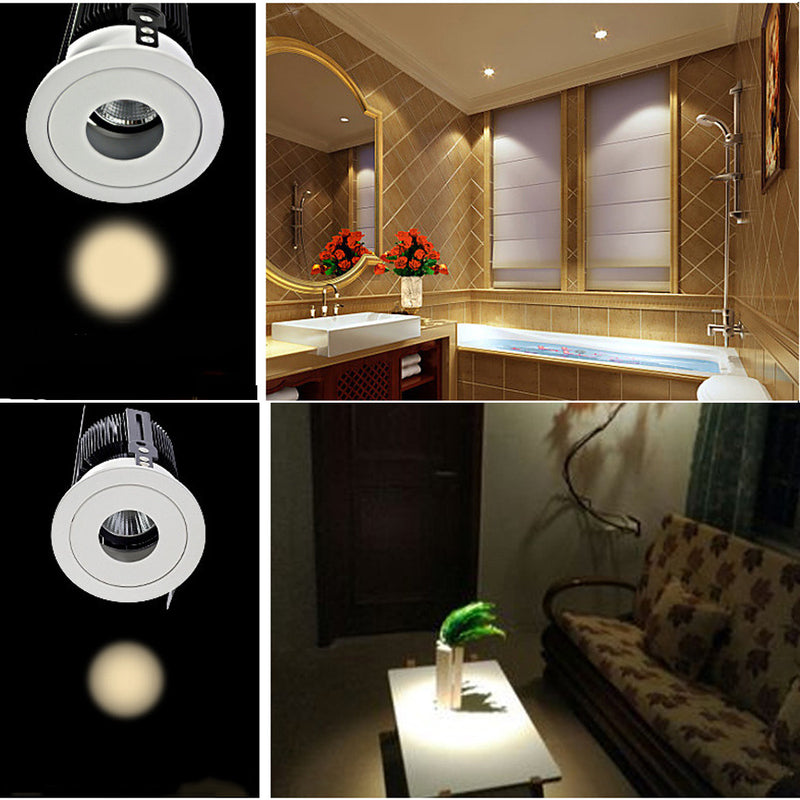 Small roundlet Stunning Interior Decorative Recessed Roof Mounting Downlights