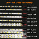 DC12V SMD2835-300-IR InfraRed 810nm LED Strip Light, 60LEDs 12W Per Meter IR LED Tape