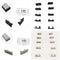 10pcs/5 Pair-Pack End Caps for LED Aluminum Channel