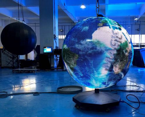 Start Here to Customize Your Own Spherical LED Display Screen