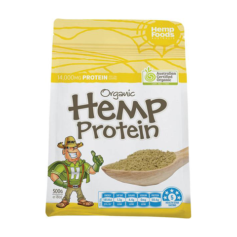 Organic Hemp Protein Powder - 500g