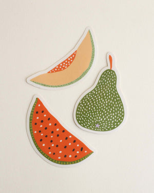 "Set of 3 ""Fruit Blend"" Stickers"
