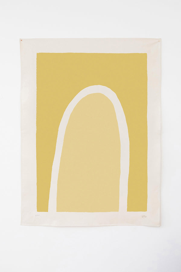 TRUSS - Yellow | 36 x 48 | Canvas | Upton