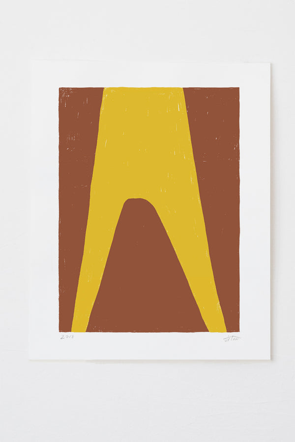 Gable - Rust | 16 x 20 Print on Paper | Upton