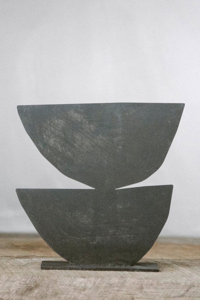 PALOMA - Aged Black | Metal Sculpture | Upton