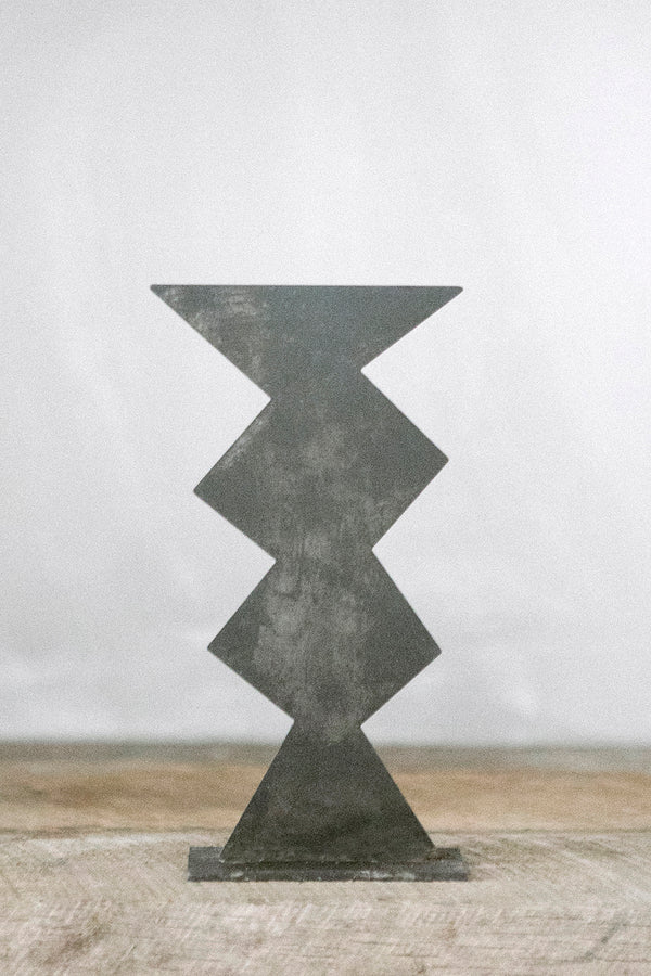 Torre - Aged Black | Metal Sculpture | Upton