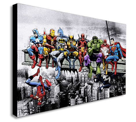 Superheroes Art