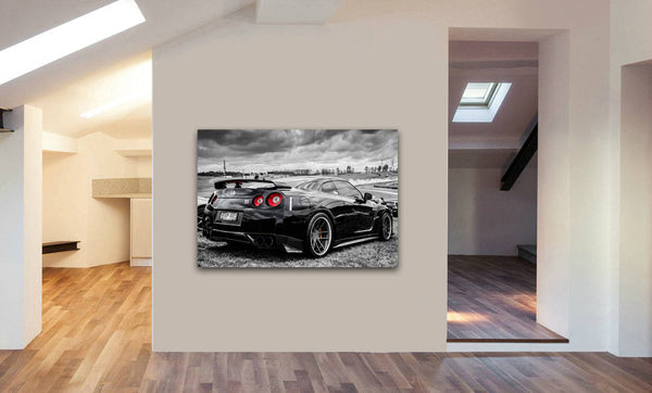 Nissan Skyline Fast And Furious Canvas Wall Art Print - Various Sizes