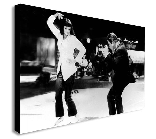 Pulp Fiction - Dance Twist Contest - Canvas Wall Art Print. Various Sizes