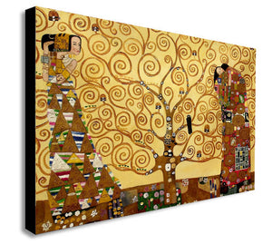 Tree Of Life Gustav Klimt Canvas Wall Art Print - Various Sizes