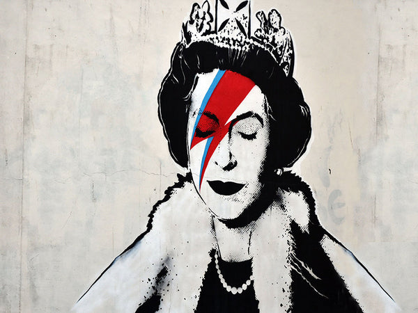 Banksy Ziggy Queen Canvas Wall Art Print - Various Sizes