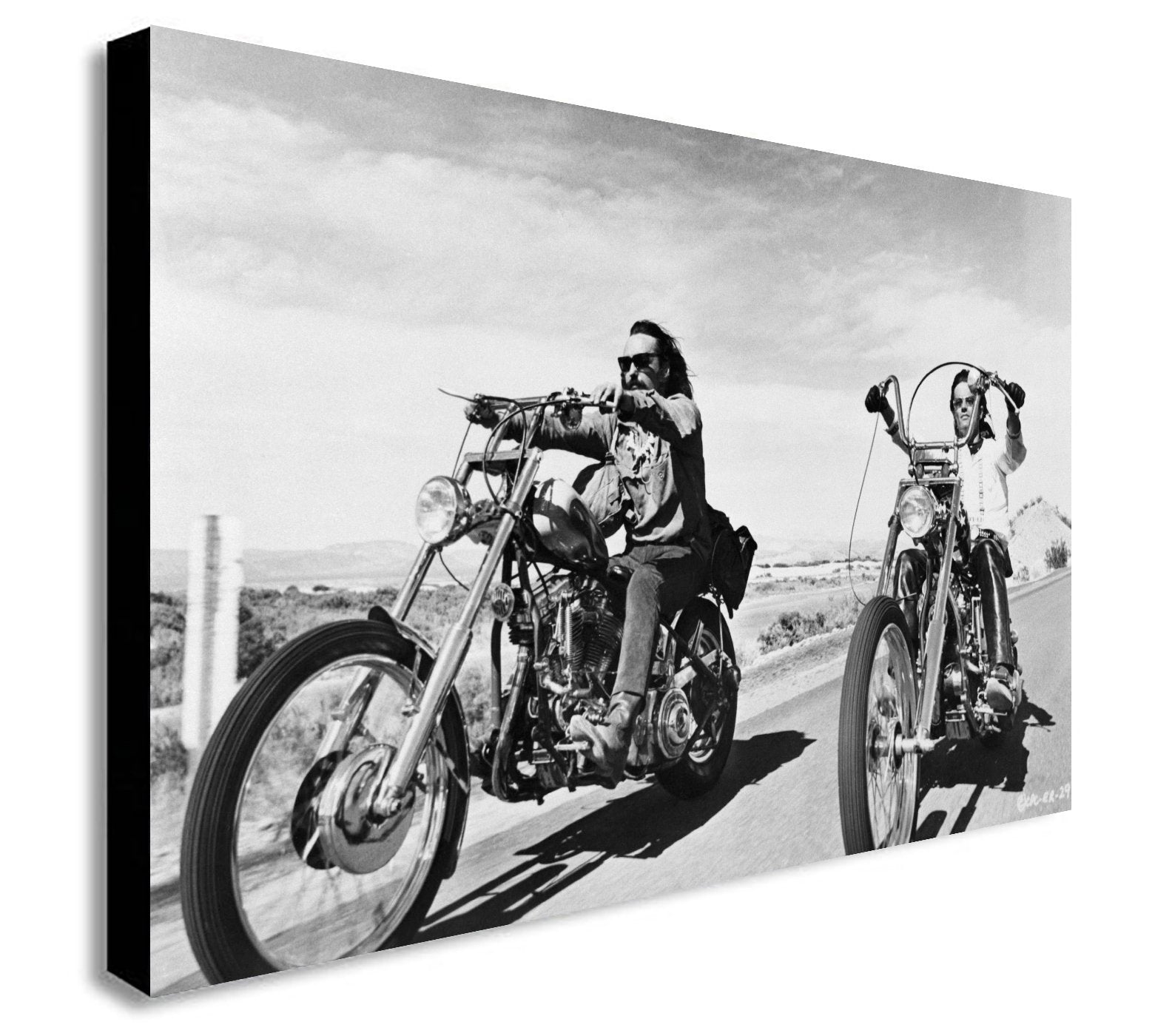 Easy Rider - 1969 Iconic Bike Movie - Canvas Wall Art - Various sizes