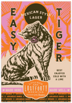 "3.5""x5"" Easy Tiger Sticker"