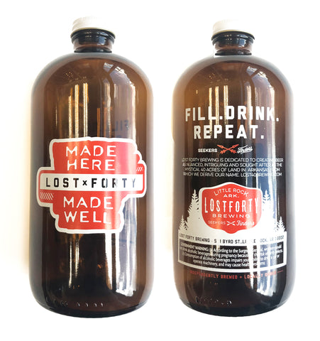 Made Here Made Well Lil' Growler - 32oz.